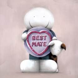 Best Mate by Doug Hyde - Limited Edition on Paper sized 12x12 inches. Available from Whitewall Galleries